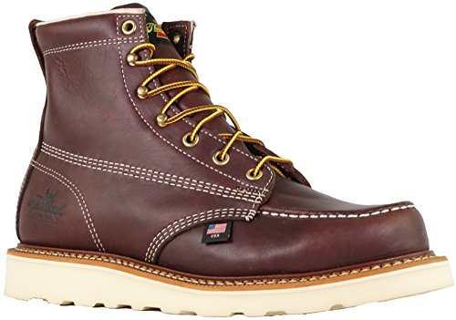 "Thorogood Men's American Heritage 6"" Moc Toe, MAXwear Wedge Non-Safety Toe Boot 2"