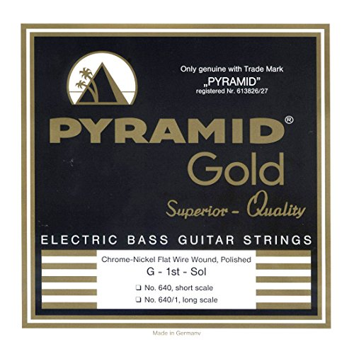 Pyramid Gold 640B Bass Flatwound Long Scale 4-String ()