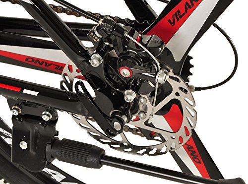 Vilano 26-Inch Frame Mountain Bike Ridge 2.0 MTB 21 Speed Shimano with Disc Brakes