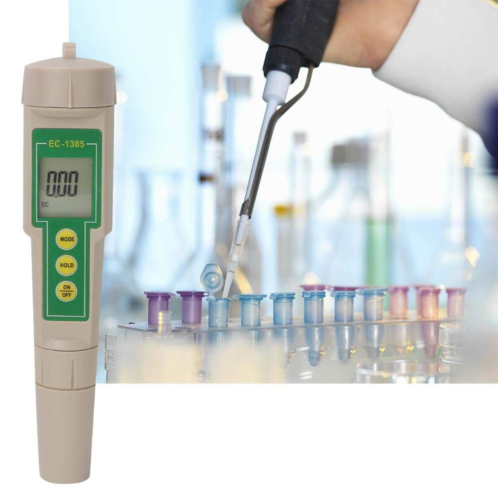 Platinum Sensor Pool Aquarium Water Lab School High Accuracy Water Quality Conductivity PH Tester for Household Drinking 3 in1 EC//CF//TDS Meter