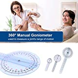Goniometer Joint Range of Motion Protractor, 6