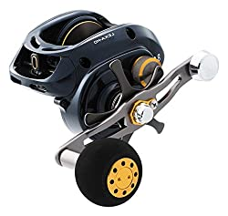 Daiwa Lexa-hd400xsl-p Lexa Type-hd Baitcasting Reel, 400 Hyper Speed, 8.1: Gear Ratio, 6crbb, 1rb Bearings, 25 Lb Max Drag, Lh