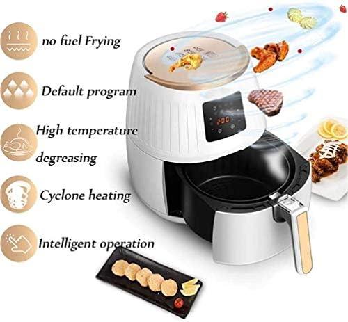 LKNJLL 3.6 Quart (5,5 Liter) Air Fryer, 7 Presets, 1500w, Afneembare Dual Basket Air Frituurpannen Met LED Touchscreen en Quickknob Controle