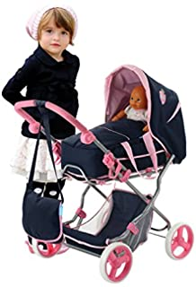 Amazon.com: Bayer Design 1305500 Trendy Dolls Pram: Toys & Games