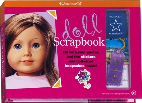 Doll Scrapbook [With StickersWith Other KeepsakesWith PostcardsWith Map] (American Girls Collection Sidelines) by Erin Falligant (Editor), Casey Lukatz (Illustrator) (20-Feb-2007) Hardcover-spiral