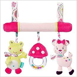 Genérico corte animal cochecito de bebé juguetes para colgar asiento de coche Cribpet Rattles: Amazon.es: Libros