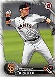Christian Arroyo baseball card (San Francisco Giants) 2016 Topps Bowman #BP134 Rookie