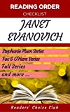 Reading order and checklist: Janet Evanovich - Series read order: Stephanie Plum Series, Single romance novels, Fox & O'Hare Series  and all others!