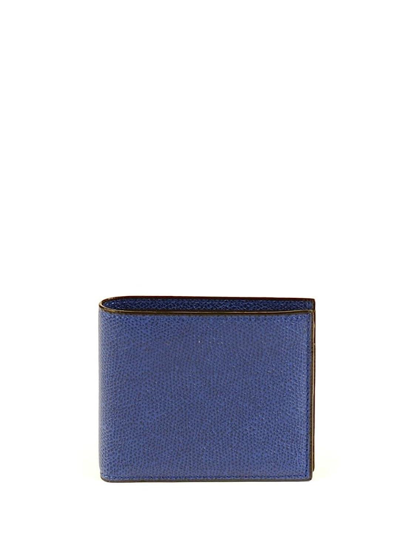 Valextra レディース V8L04028RO ブルー 革 ウォレット B0799KVNXH   Brand Size UNI