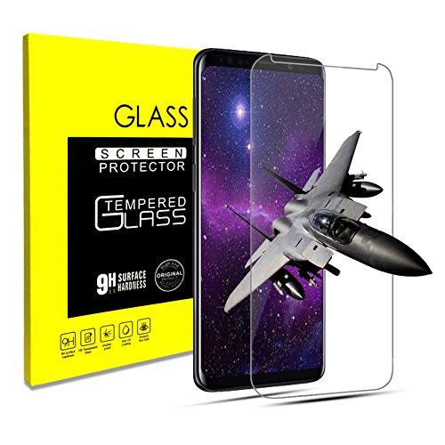 klpdz Panzerglas Schutzfolie für Samsung Galaxy S9, Anti-Öl, 9H Härte, Anti-Kratzen, Panzerglasfolie Gehärtetem Glas Displayschutzfolie für Galaxy S9 (Galaxy S9)