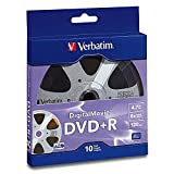 Verbatim DVD+R 4.7GB 8X with DigitalMovie Surface - 10pk Bulk Box
