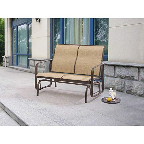 Amazon.com : Elegant Two-Seat Outdoor Living Space Loveseat ...