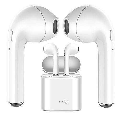 Auriculares Bluetooth, Auriculares Inalámbricos, Auriculares Deportivos con Reducción Ruido Estéreo con Micrófono y Kit