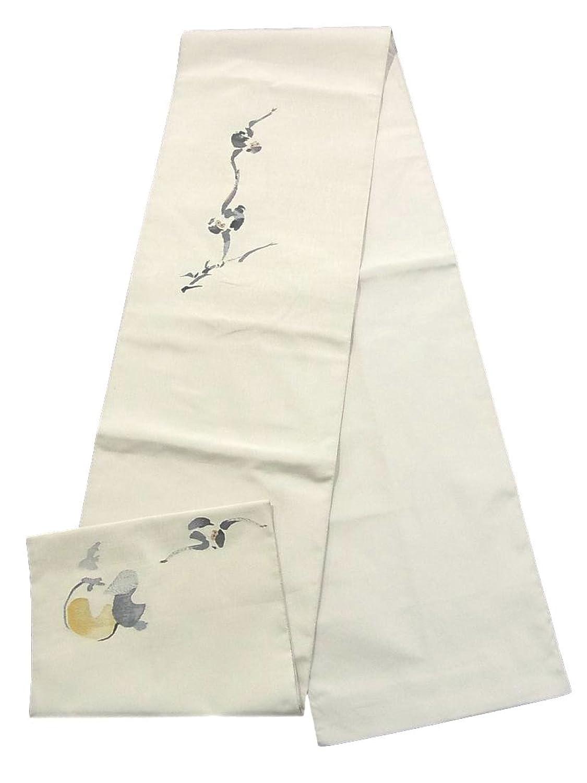 リサイクル 袋帯 月にサル 正絹 お太鼓柄 B07FTFR7MF  -