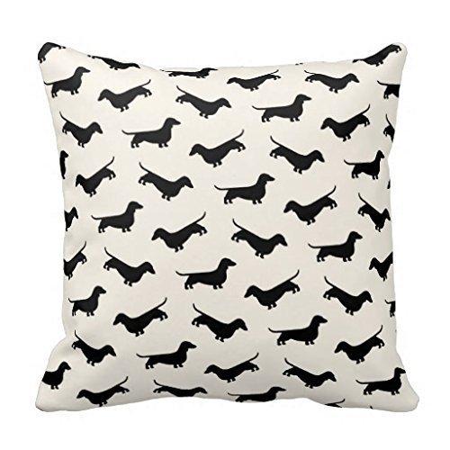 Dachshund Weiner Dog Pillow Co...