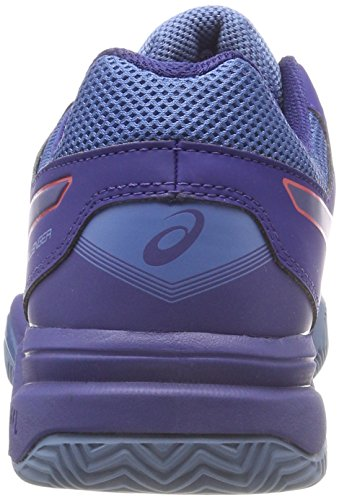 Azul Clay Red Zapatillas Hombre para Alert Gel Challenger de Print Tenis 400 Asics Blue 11 qWzHxxt