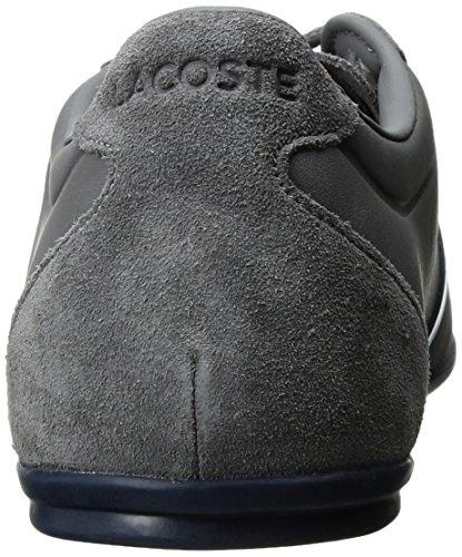 Lacoste Men's Mokara 117 1 Casual Shoe Fashion Sneaker, Dark Grey, 10 M US