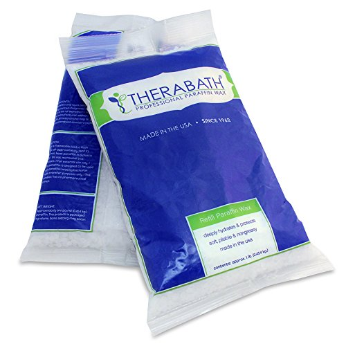 (Therabath Paraffin Wax Refill - Use To Relieve Arthitis Pain and Stiff Muscles - Deeply Hydrates and Protects - 6 lbs (ScentFree))