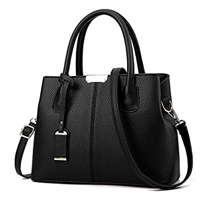 SYXLCYGJ Women Top Handle Satchel PU Handbags Shoulder Bags Tote Purse Messenger Bag