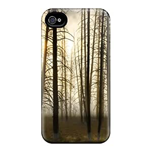 New Hard Cases Premium Iphone 6 Skin Cases Covers(bare Forest)