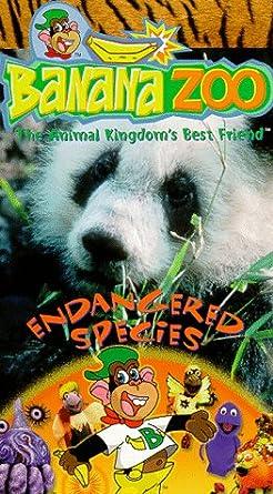 Amazon Com Banana Zoo Endangered Species Vhs Banana Zoo Movies Tv