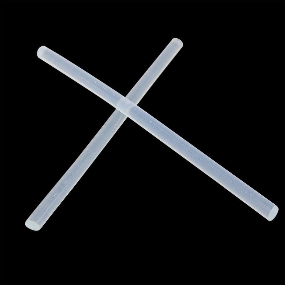 X AUTOHAUX 10 Pcs 7mm X 150mm Hot Glue Sticks Auto Body Paintless Dent Removal Repair for Car