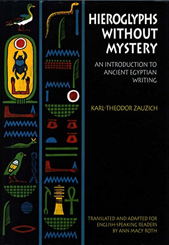 Hieroglyphs Without Mystery: An Introduction to Ancient Egyptian - Sacramento Macys