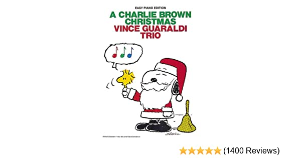 A Charlie Brown Christmas Vince Guaraldi Trio Piano Solovocal