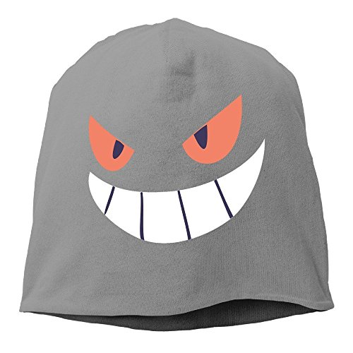 Gengar Halloween Face Men & Women Hip-Hop Beanie Skull Cap Hat