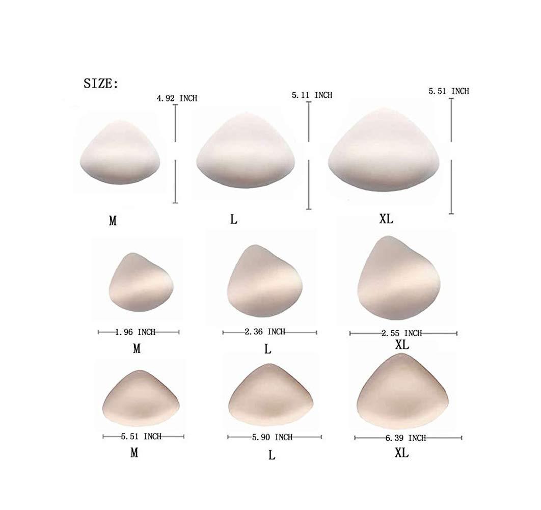 Brustform leichter Schaumstoff nach Operationen Medium Bimei BH-Vergr/ö/ßerungseinlagen