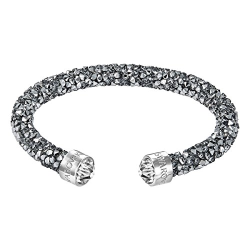 (Swarovski Medium Grey Crystaldust Cuff)