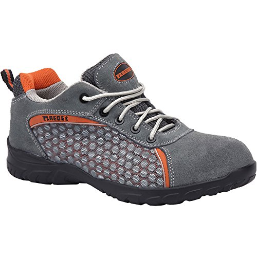 Paredes SP5013 GR46 Rubidio Chaussures de sécurité S1P Taille 46 Gris