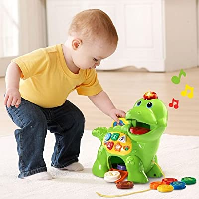 VTech Chomp and Count Dino: Toys & Games