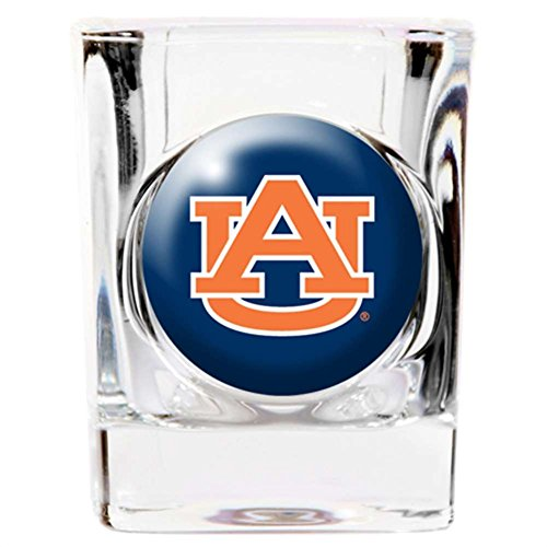 - NCAA Auburn Tigers 2oz. Domed Logo Square Shot Glass