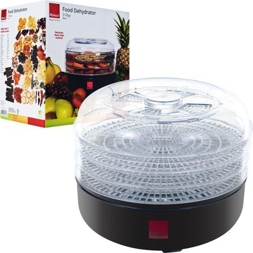 Ronco 82-FD1001 3-Tray Electric Food Dehydrator