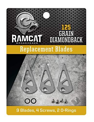Ramcat R4006 Archery Broadheads, 125 Grain