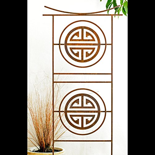 Garden Art Sculpture -Free Shipping- Tibetan Garden Panel Screen Home and Garden Décor Yard Art Decorative Sculptures