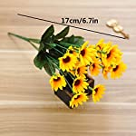 ORYOUGO-Artificial-Silk-Sunflower-14-stems-Flowers-Bouquet-Bride-Bridesmaid-Holding-Flowers-For-Home-Decoration-Hotel-Office-Wedding-Party-Garden-Craft-Art-Decor3-Pack
