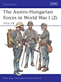 The Austro-Hungarian Forces in World War I (2): 1916-18 (Men-at-Arms, Band 397)