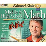 TOPICS ENTERTAINMENT Educator s Choice Middle and High School Math (Windows/Mac)