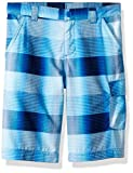Columbia Boys Silver Ridge Printed Shorts, Super Blue Plaid, Small