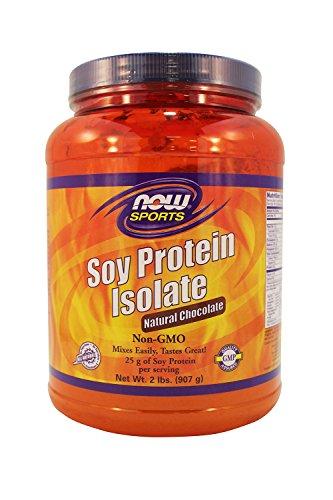 Maintenant Protein Foods isolat de soja, chocolat naturel, 2-Pound