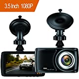 Dash Cam 3.5 Inch Car Camcorder 1080Px LCD Display (Small Image)