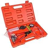 XtremepowerUS Brake Fluid Bleeder Hand Held Vacuum Pistol Pump Tester Kit + Adapters w/ Case