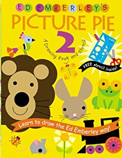 ed emberleys picture pie two drawing book series - Drawing Book Pictures