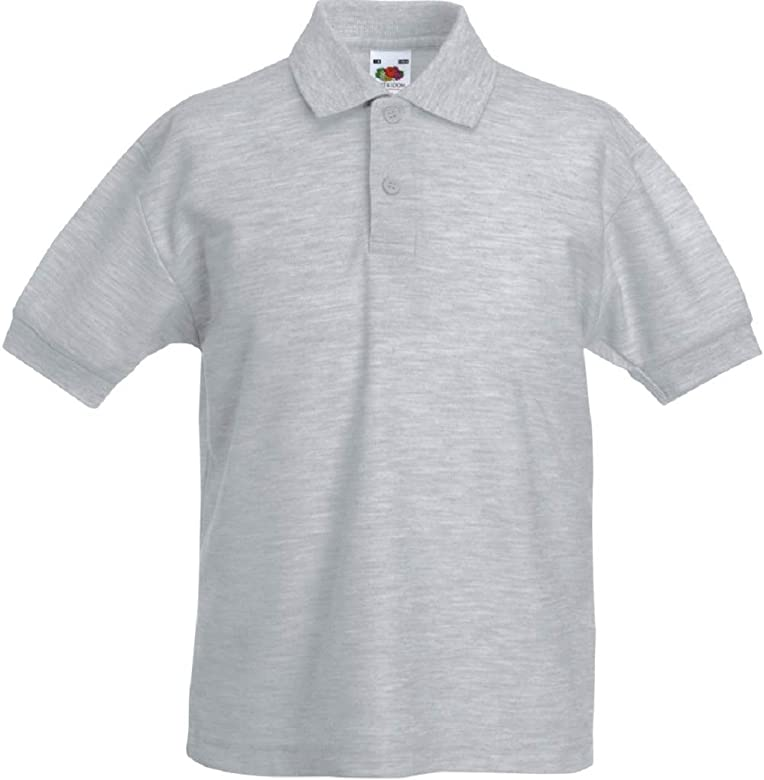 Fruit Of The Loom Boys Girls Kids Sweatshirt Jumper Classic Raglan Uniform