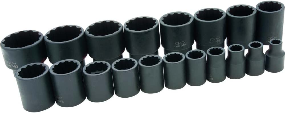 Impact Socket Gray Tools 15//16-Inch X 3//4-Inch Drive 6 Point Regular Length