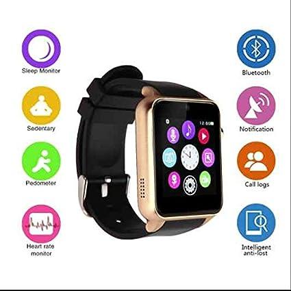 DM368 Bluetooth reloj inteligente SmartWatch 3 G MTK6580 ...
