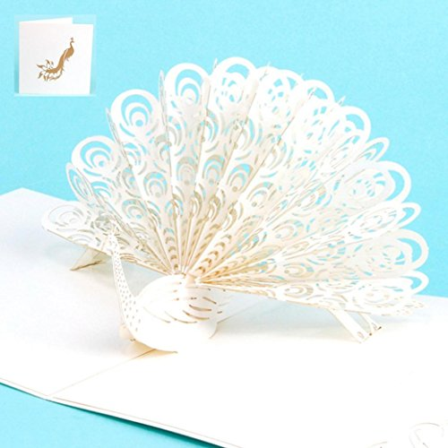 Transer 3D Pop Up Peacock Cards