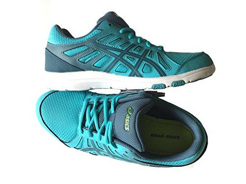 New Asics AYAMI-SHINE Women's Running shoes - Turquoise - S394Q 4056 bOy1t